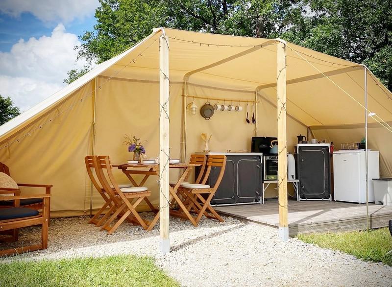 Photo Camping Le Ranch - la stargazer- MADRANGES