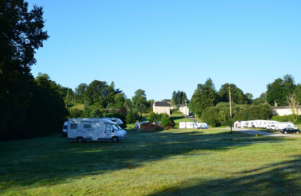 Photo Aire d'accueil de camping-car de Treignac- TREIGNAC