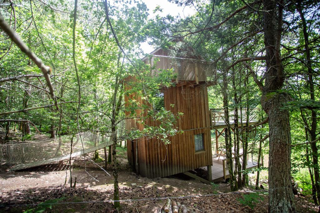 Photo Les cabanes au bord du monde - La cabane Les Cent Ciels- GRANDSAIGNE