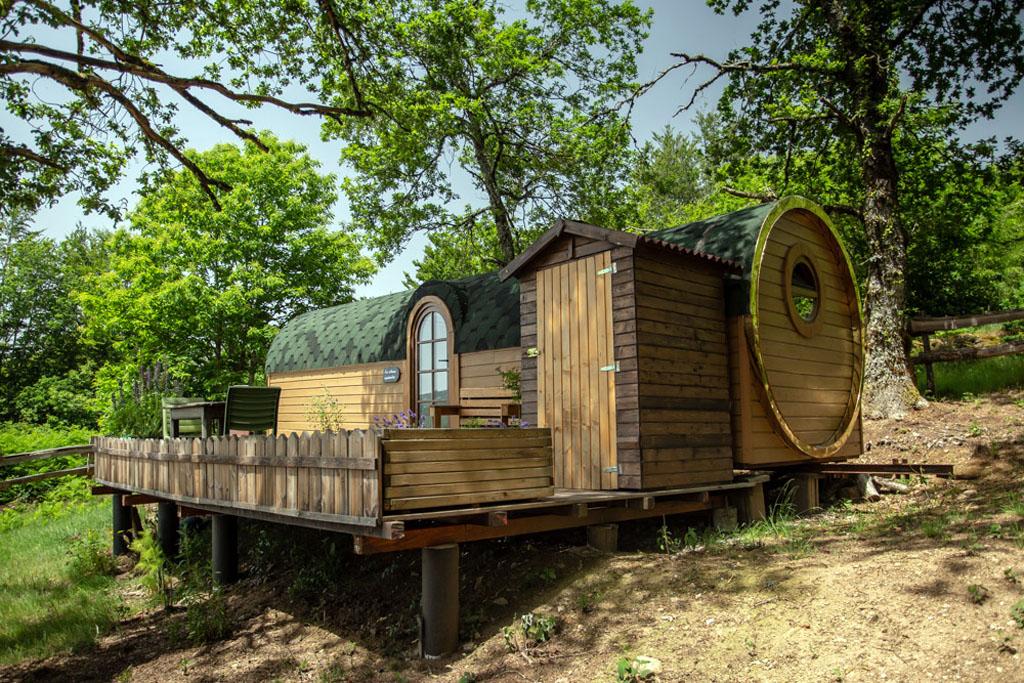 Photo Les cabanes au bord du monde - La Cabane inattendue- GRANDSAIGNE