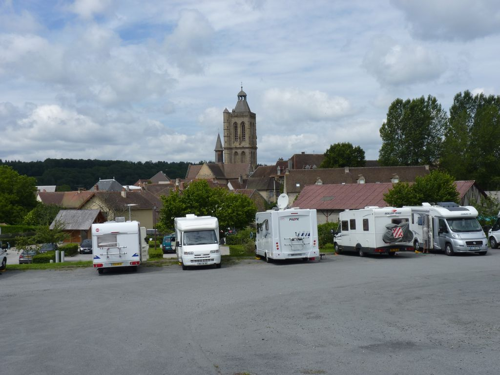 Photo Aire d'accueil Camping-Cars- FELLETIN