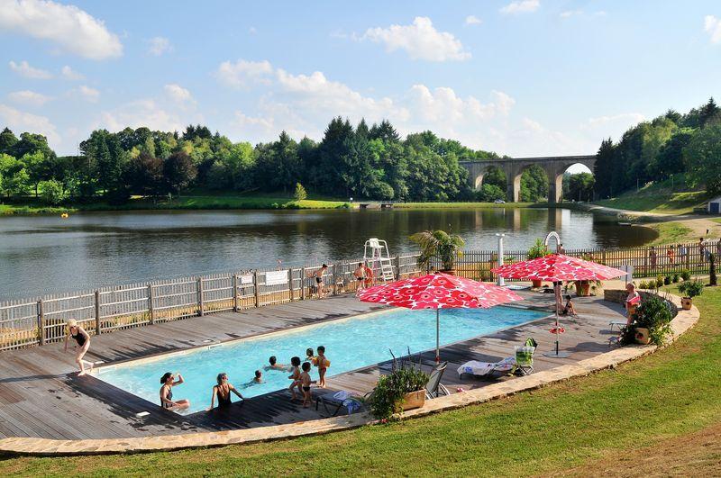 Eymoutiers ville porte du parc naturel r gional de for Camping lac aiguebelette avec piscine