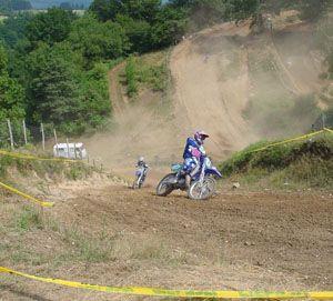 Terrain de moto cross de la Chavanière