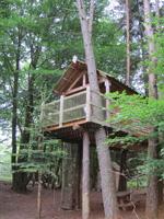 Photo Cabane dans les arbres de la Ferme de Vassivière- ROYERE DE VASSIVIERE