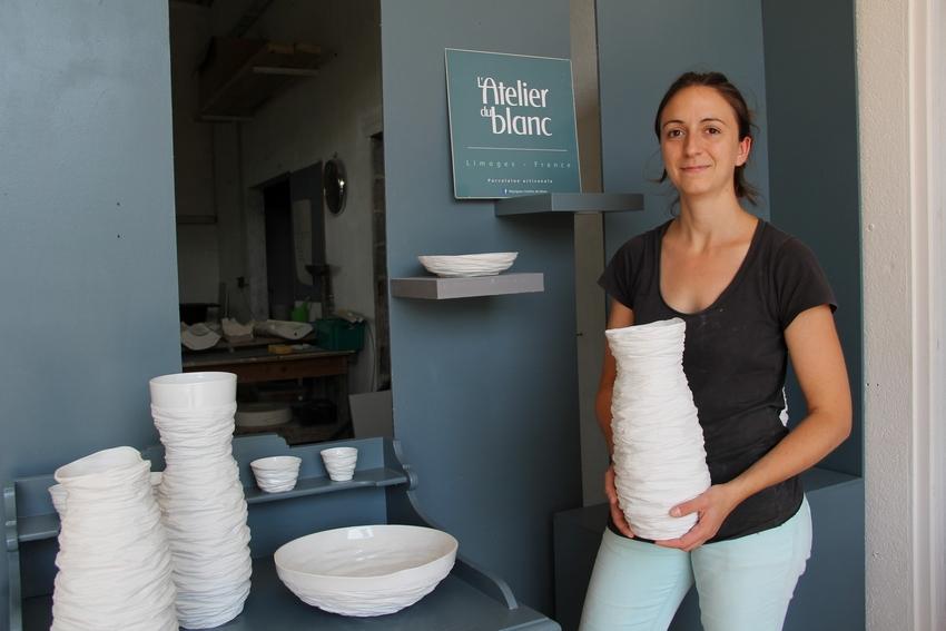 Porcelaine : l'Atelier du blanc