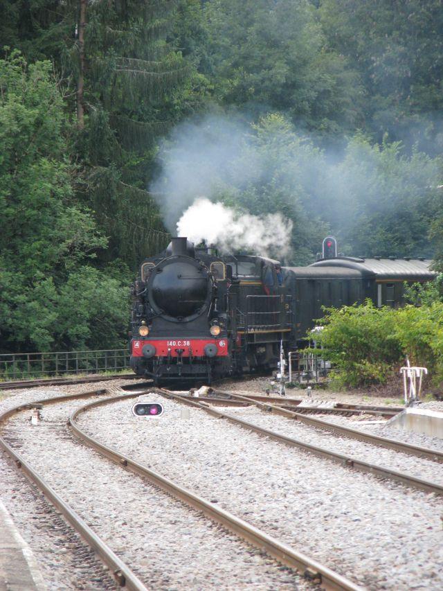 Circuit en train touristique à vapeur jusqu'au Plateau de Millevaches