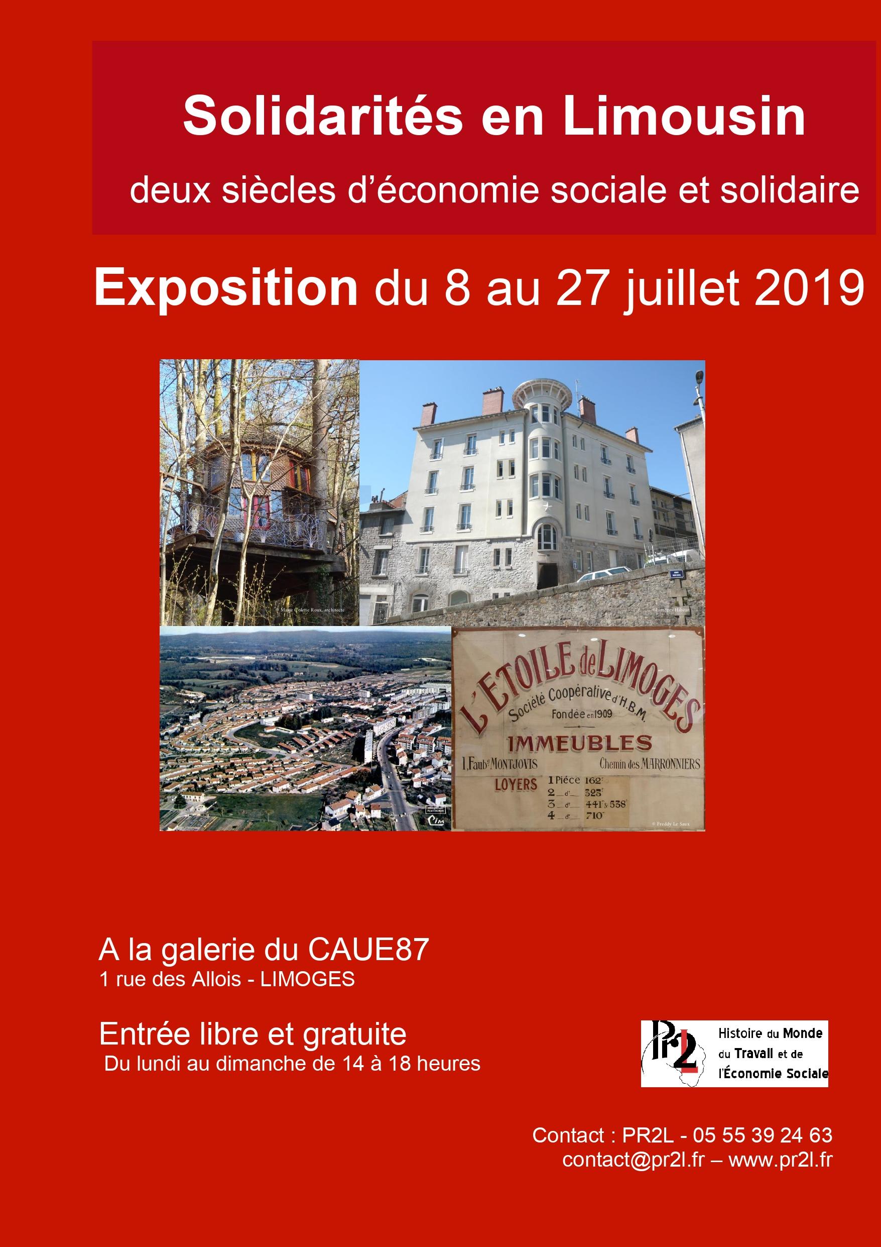 Limoges : Solidarités en Limousin, deux siècles d'économie sociale et solidaire