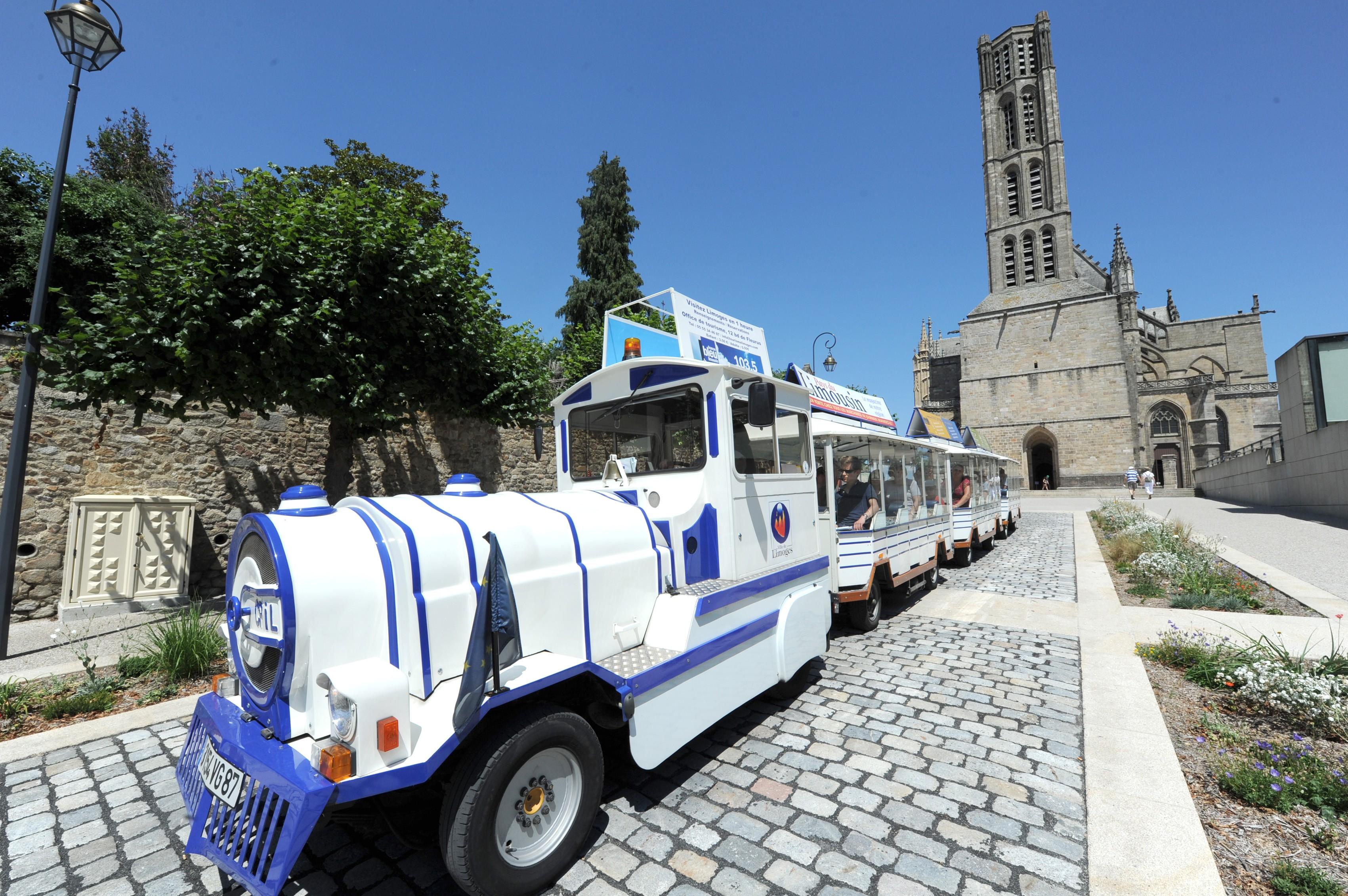 Limoges : Petit train de Limoges en septembre