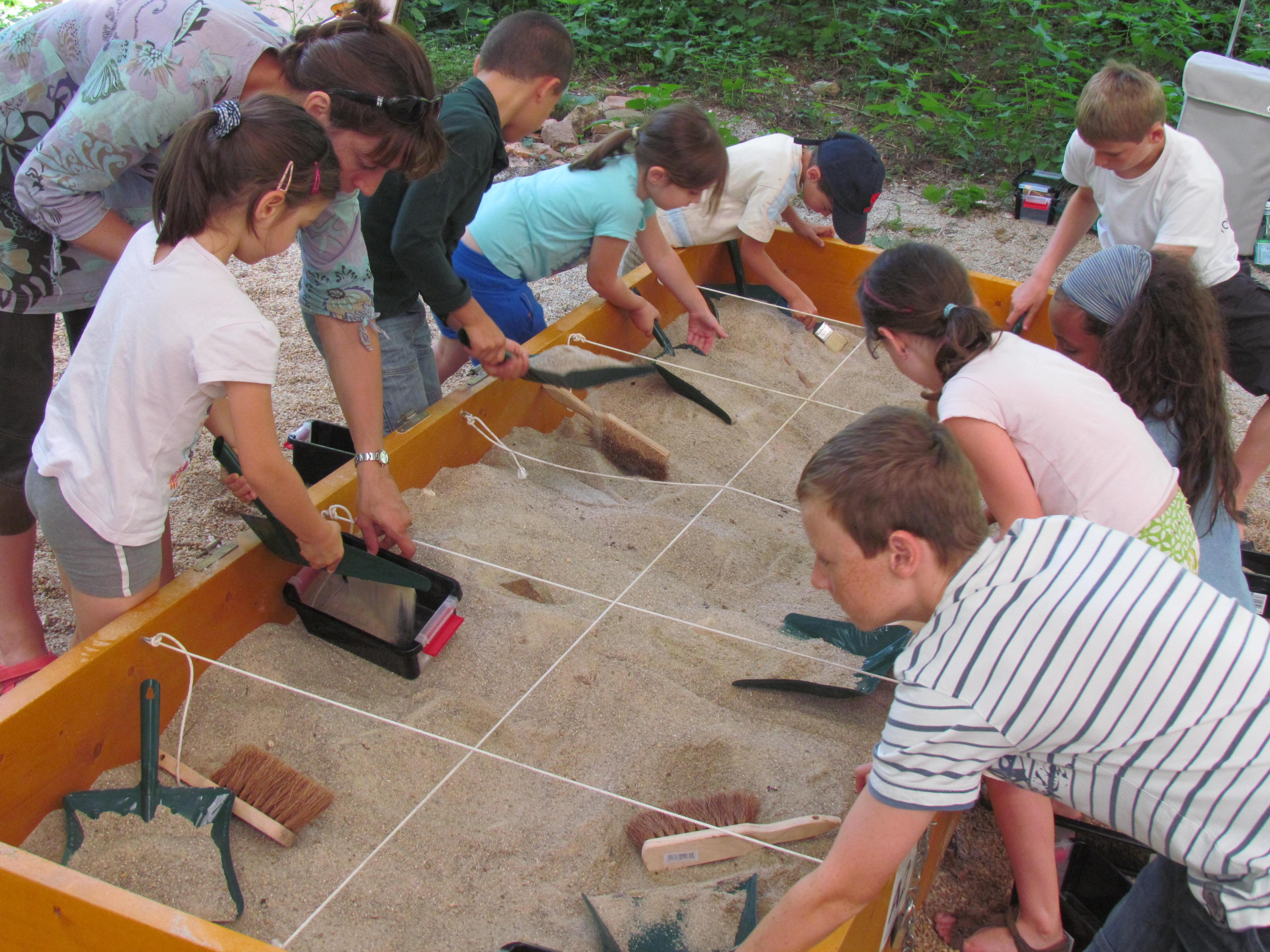 Limoges : Atelier enfant 8 - 12 ans : ArchéoMinots