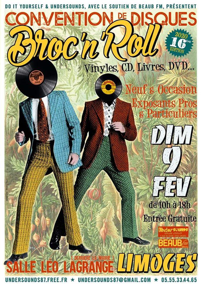 Limoges : Broc 'N' Roll : Salon du disque