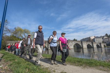 Limoges : Randonnée : des Carmes à l'Auzette