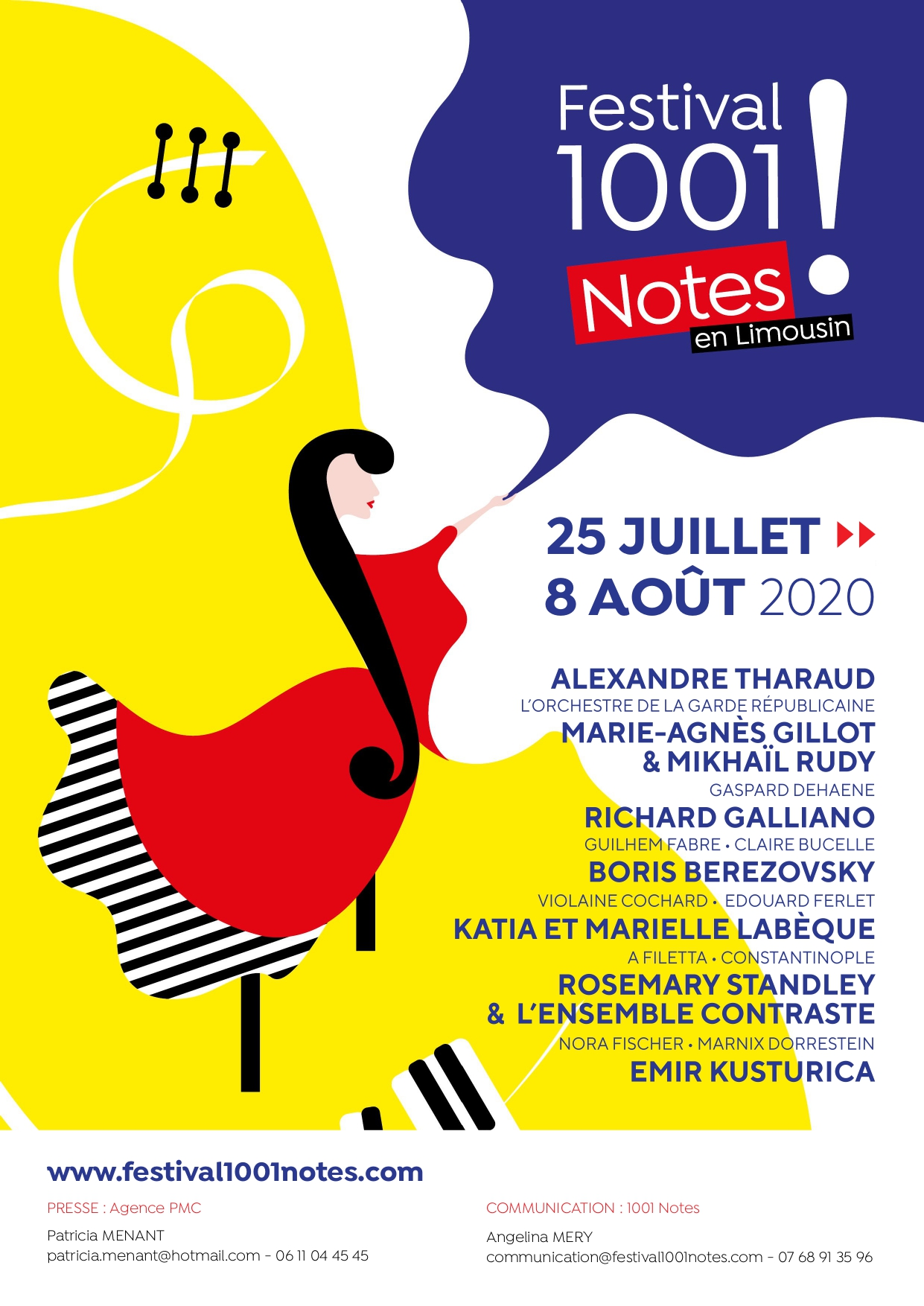 Limoges : Festival 1001 Notes en Limousin / ANNULE