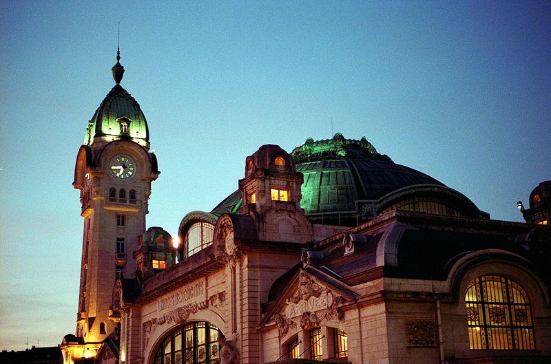 Limoges : La Gare de Limoges-Bénédictins