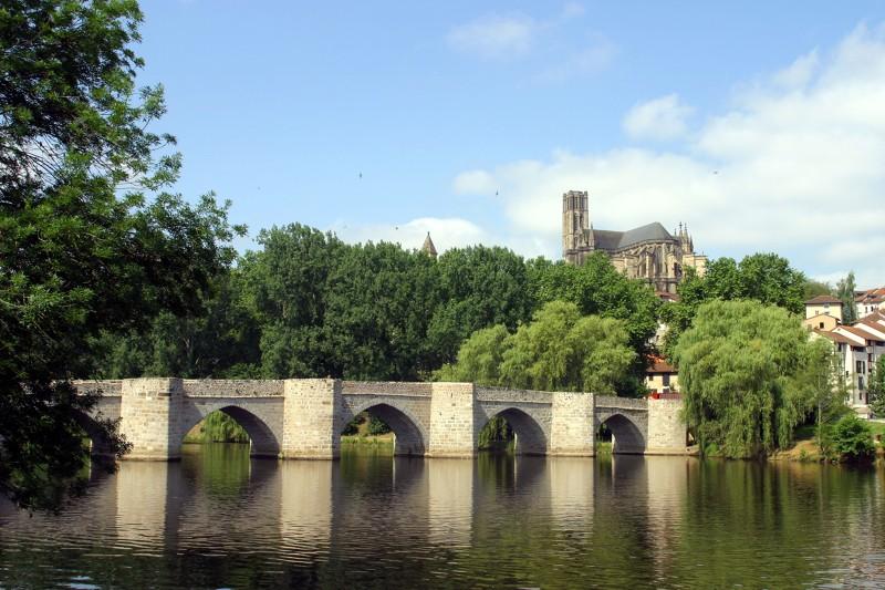Limoges : Le quartier de la cathédrale