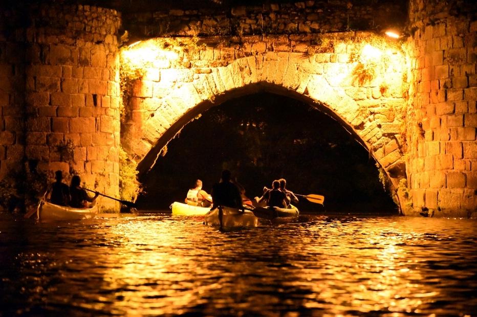 Limoges : Limoges en canoë en nocturne