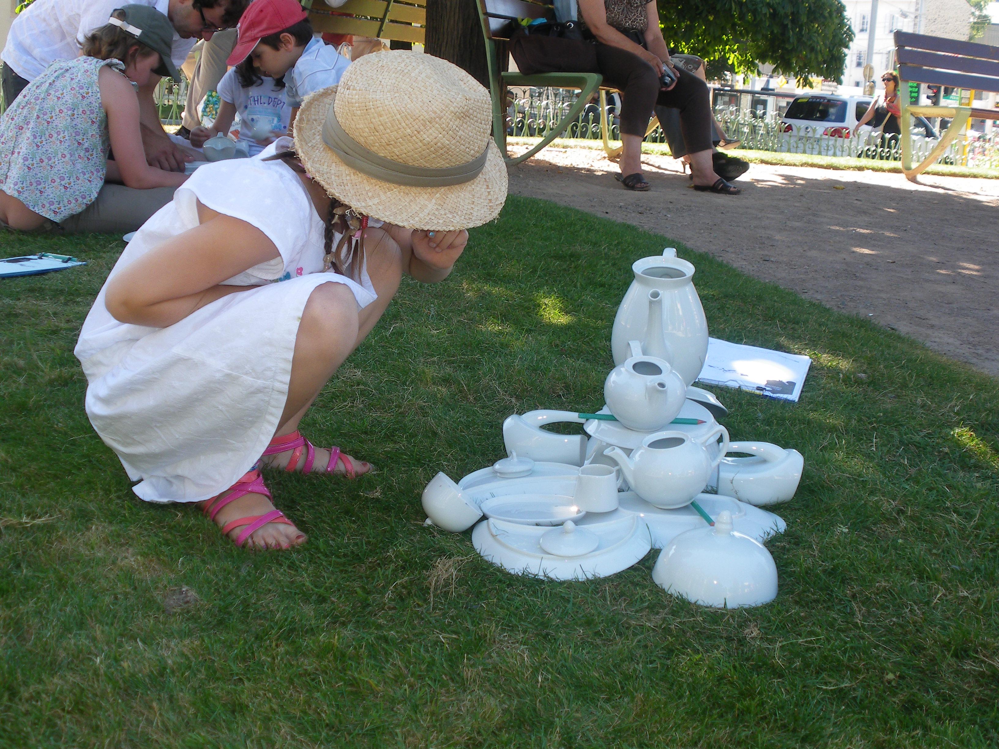 Limoges : Atelier enfant 6 - 12 ans : Fontaine à croquer
