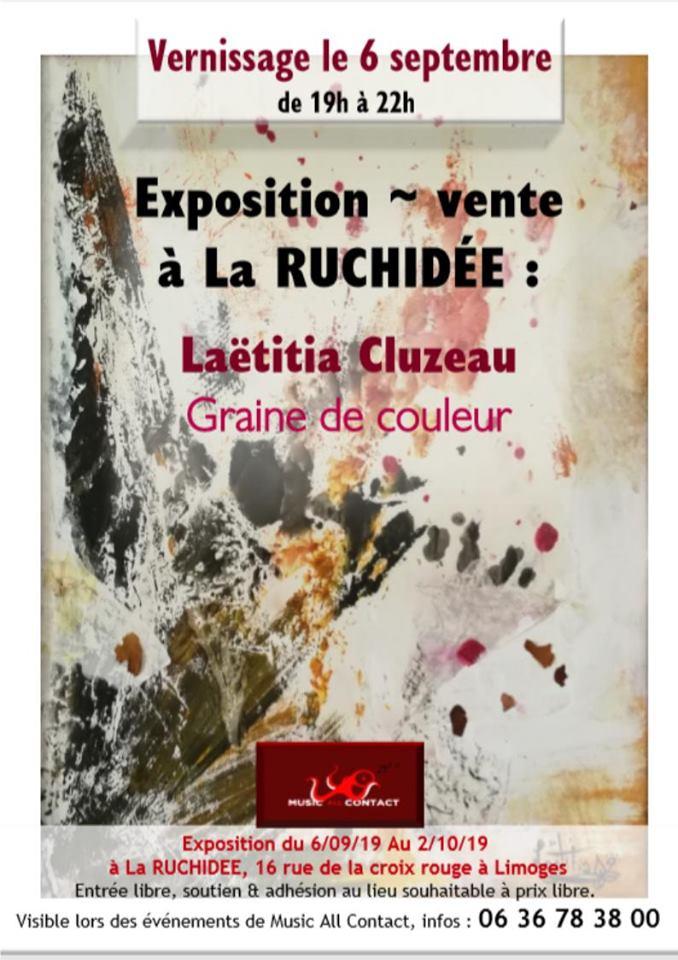 Limoges : Laëtitia Cluzeau : Graine de couleur