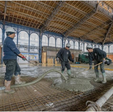 Limoges : Toques et porcelaine : Visite des halles centrales