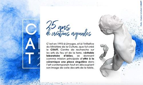 Limoges : CRAFT 25 ans de création : Entre art et technique