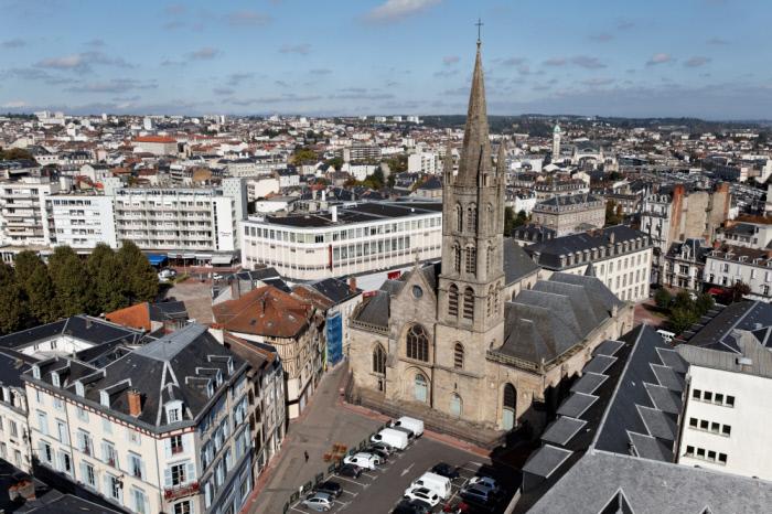 Limoges : Eglise Saint-Pierre-du-Queyroix
