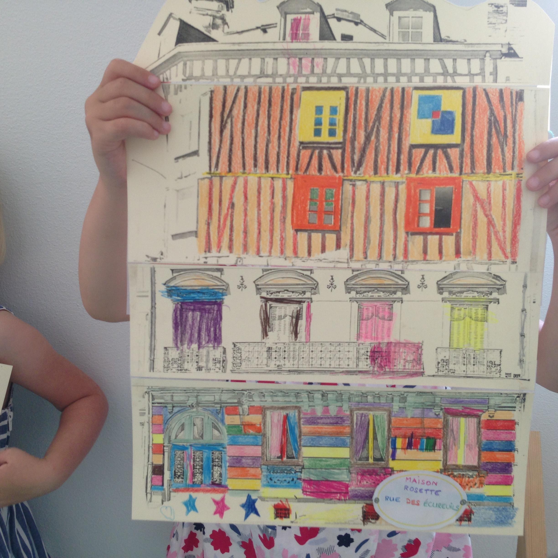 Limoges : Visite atelier 4 - 5 ans : Ravalement de façades