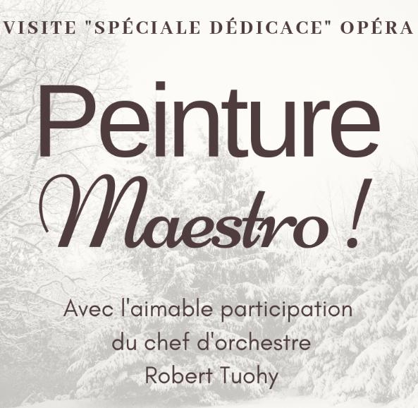 Limoges : Spéciale dédicace : peinture Maestro !