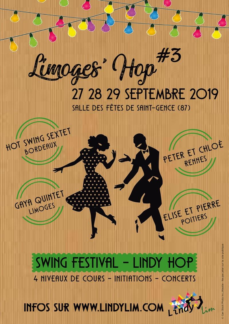Limoges : Limoges'hop - Swing festival