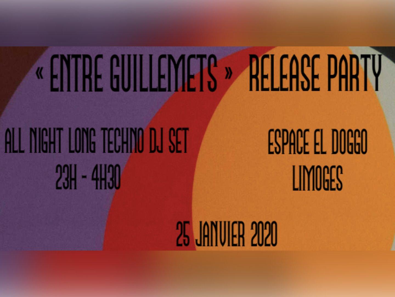Limoges : Release Party : Entre Guillemets