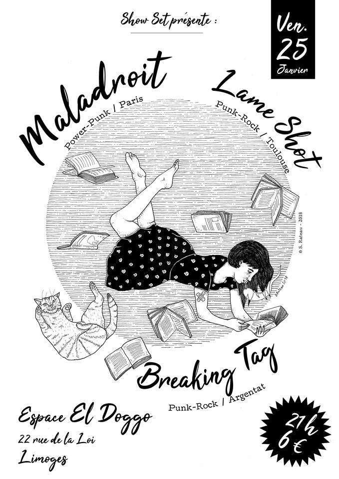 Limoges : Maladroit + Lame Shot + Breaking Tag