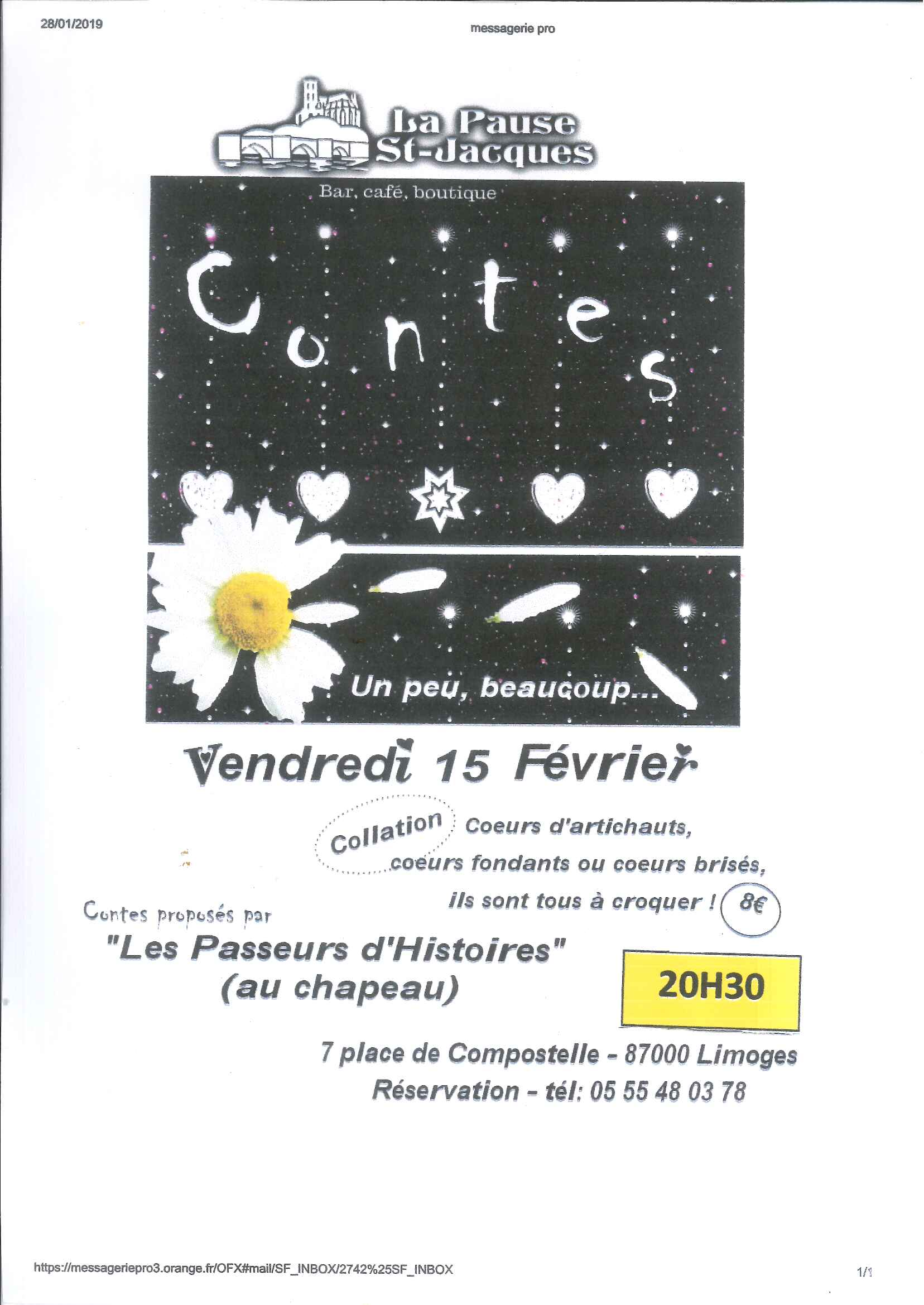 Limoges : Contes de froid et d'effroi