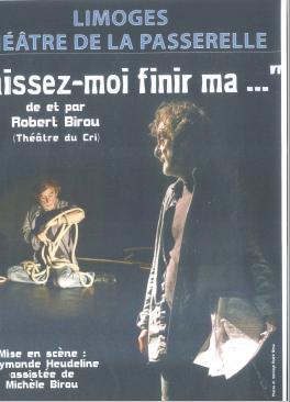 Limoges : Laissez-moi finir ma...