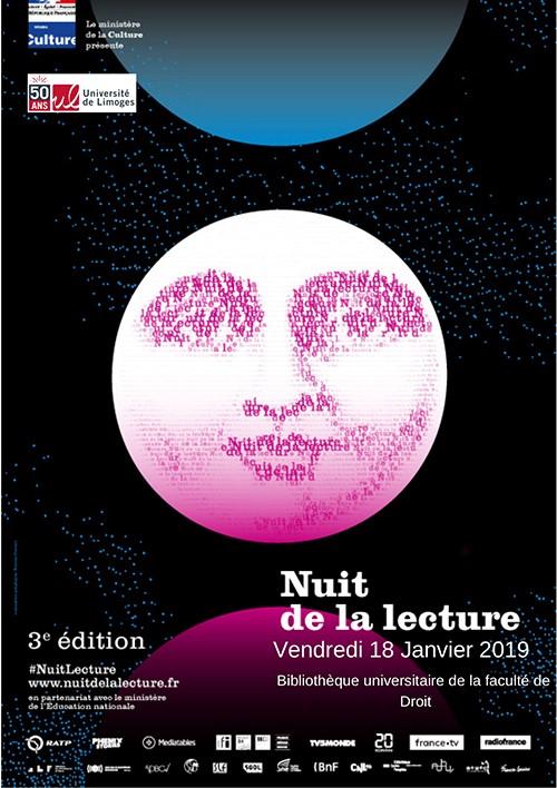 Limoges : Nuit de la lecture à la Bibliothèque Universitaire