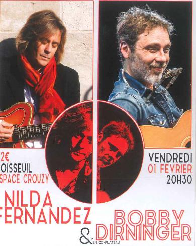 Limoges : Nilda Fernandez & Bobby Dirninger