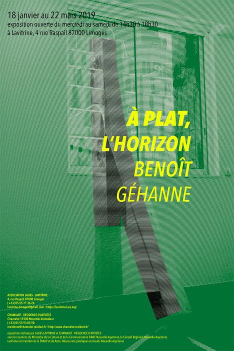 Limoges : Benoît Géhanne : À plat, l'horizon