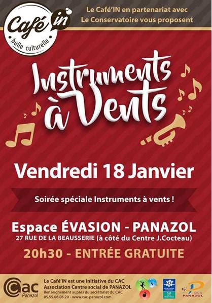 Limoges : Les instruments à vent