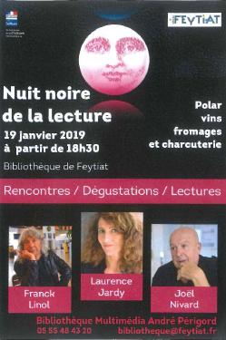 Limoges : Nuit noire de la lecture