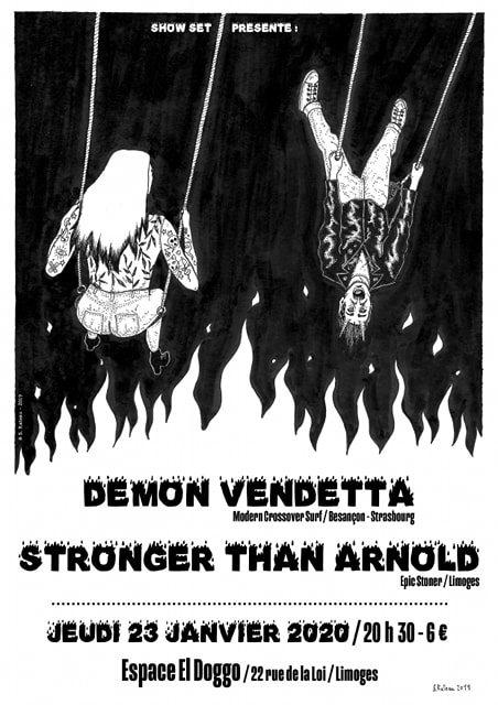 Limoges : Demon Vendetta + Stronger than Arnold