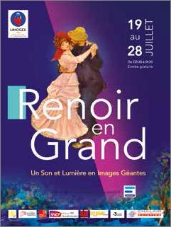 Limoges : Renoir en grand
