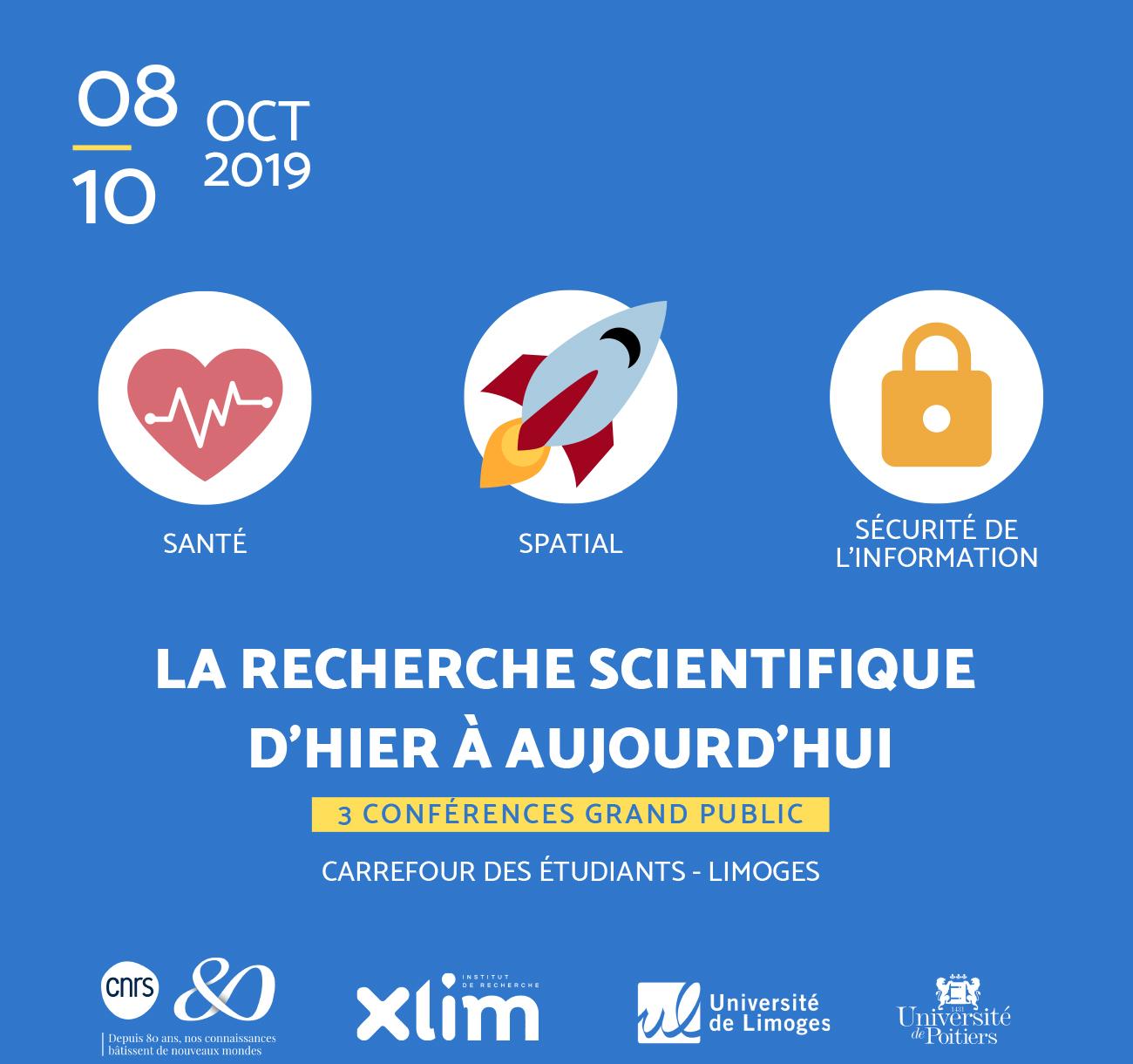Limoges : 80 ans du CNRS : La recherche scientifique d'hier à aujourd'hui