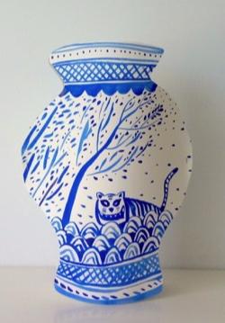 Limoges : Atelier enfant 8 - 14 ans : Mon vase bleu
