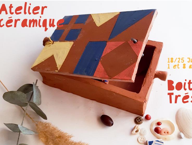 Limoges : Atelier Céramique : Boite à trésors