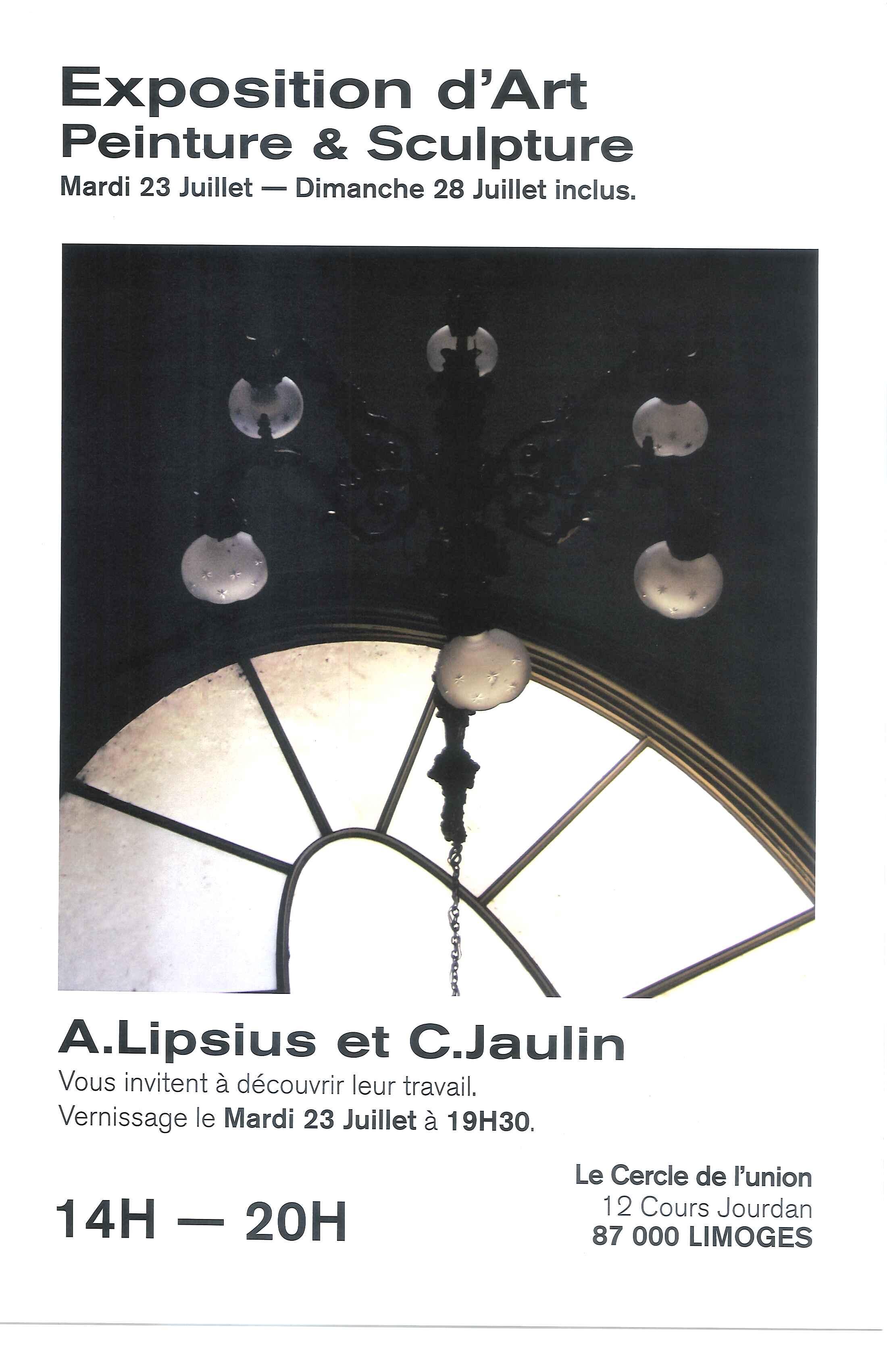 Limoges : Peinture et sculpture au Cercle de l'Union