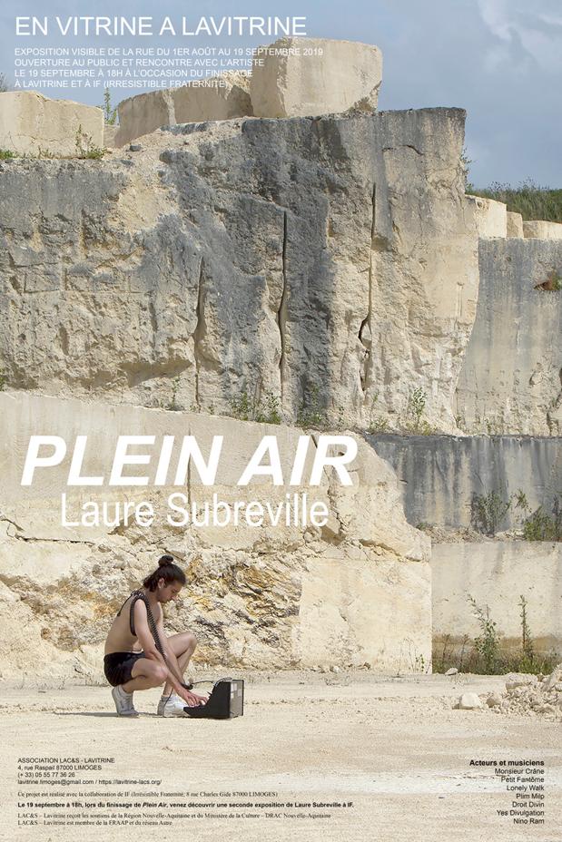 Limoges : Plein air, Laure Subreville