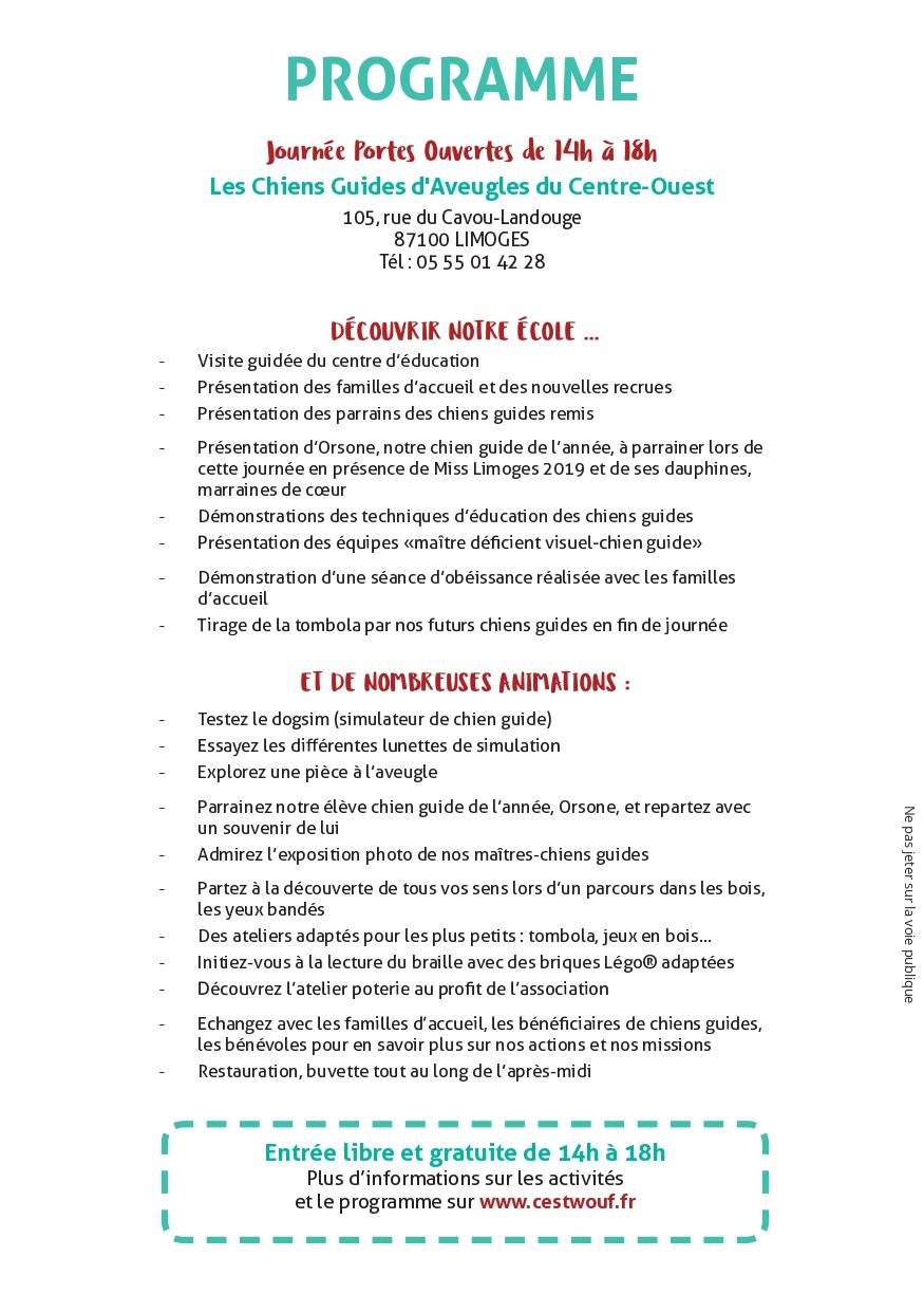 Limoges : La fête des chiens guides