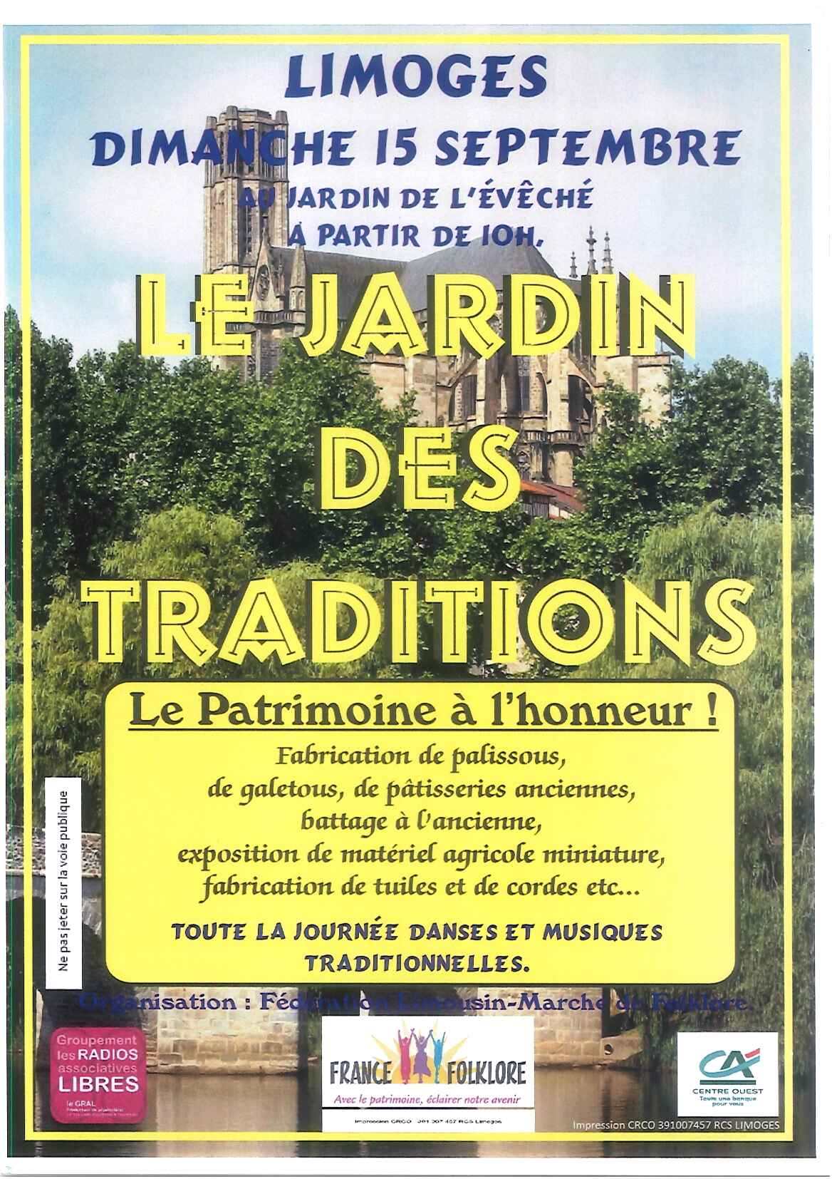 Limoges : Le jardin des traditions