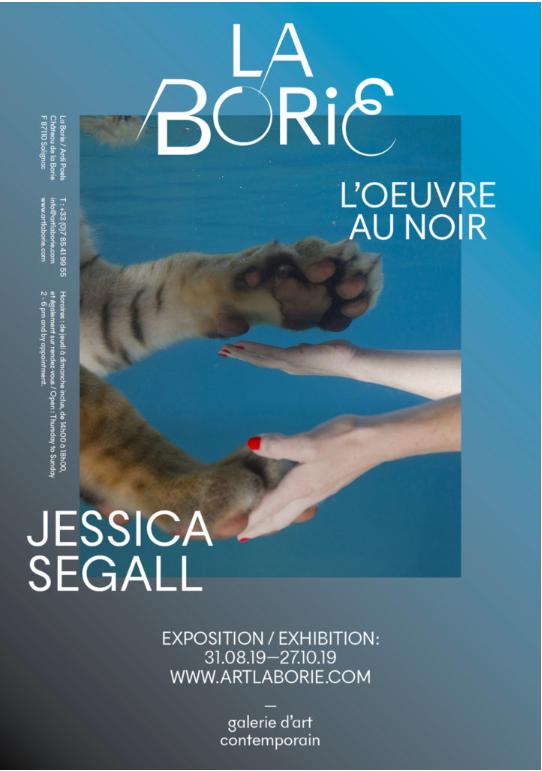 Limoges : Jessica Segall : l'Œuvres au noir