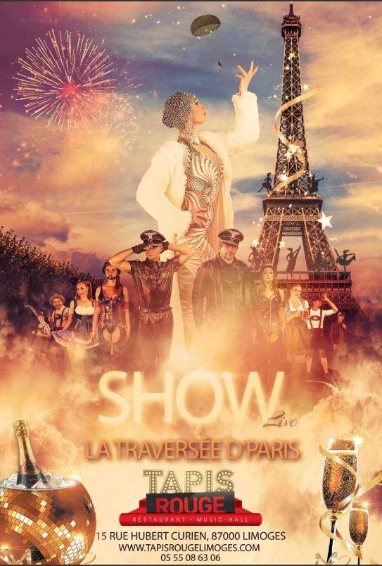 Cabaret Tapis Rouge : revue spéciale Pâques - LIMOGES