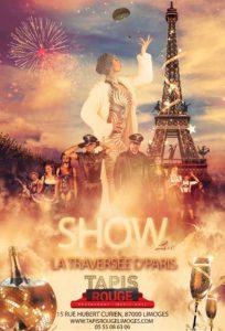 Limoges : Cabaret Tapis Rouge : La traversée d'Paris / ANNULE