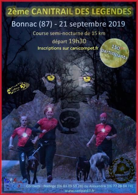 Limoges : Cani-trail des Légendes