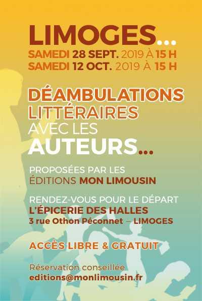 Limoges : Déambulations littéraires